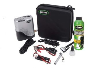 SLIME Moto Repair Kit w/ Compressor & Tyre Sealant