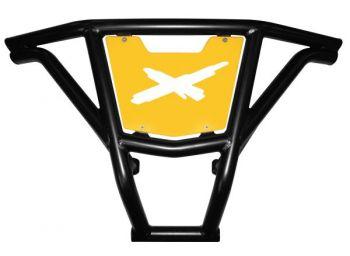 FRONT BUMPER BLACK BR9 - CAN-AM MAVERICK 1000R