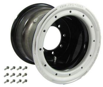 GS: 8X8 4/110/115 3+5 B BEAD LOCK BLACK - SAND-BL RING