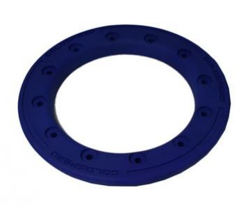 GS:BEAD-LOCK RING 10-INCH BLUE POLYMER CARBON
