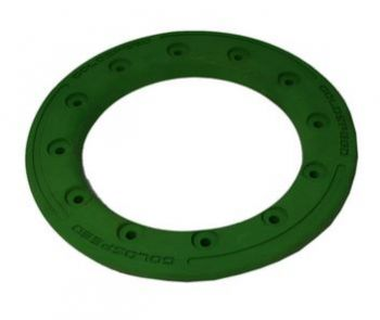 GS:BEAD-LOCK RING 8-INCH GREEN POLYMER CARBON
