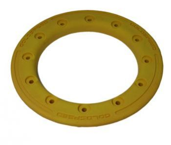 GS:BEAD-LOCK RING 10-INCH YELLOW POLYMER CARBON