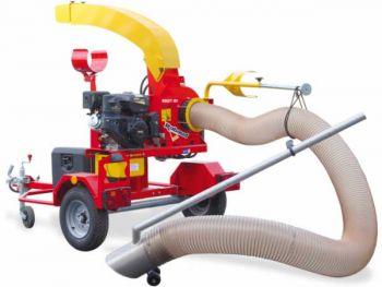 Vacuum cleaner on road trailer