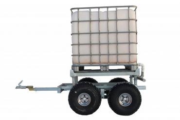 ATV timber trailer + WATER TANK KIT (1000L)