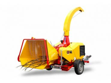 XYLOCHIP 125 M - 28,5 HP Lombardini Diesel engine mounted wood chipper / shredder