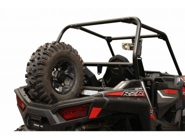DRAGONFIRE - Race Spare Tire Black Polaris RZR900/S