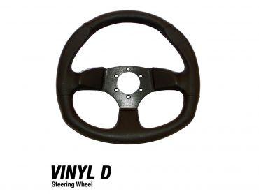 DRAGONFIRE Vinyl D Steering Wheel