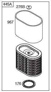 Filter--Air Cleaner Cartridge