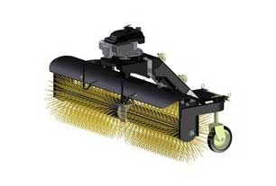 Street cleaning Angle Broom for ATV - UTV