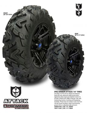 PRO ARMOR - ATTACK TIRE REAR 26X11-14 8PR 90D
