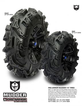 Pro Armor - MUDDER TYRE REAR 27X11-14