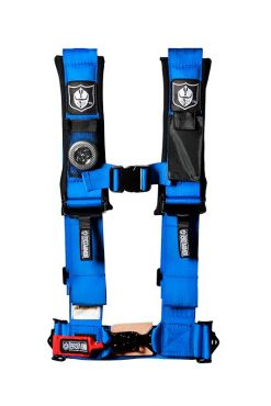 Pro Armor 3`` 4PT SEAT BELT HARNESS VOODOO BLUE