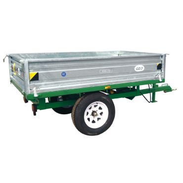 Hydraulic Tipping trailer - 1500kg capacity