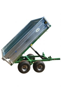 Hydraulic Tipping trailer - 2500kg capacity