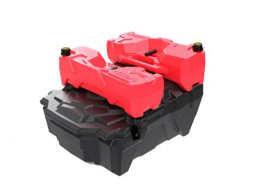 UTV / SXS rear storage box for Polaris RZR 1000
