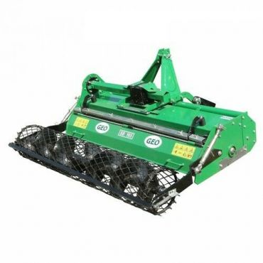 Heavy Duty Stone Burier for Compact Tractors (Working width : 145cm)