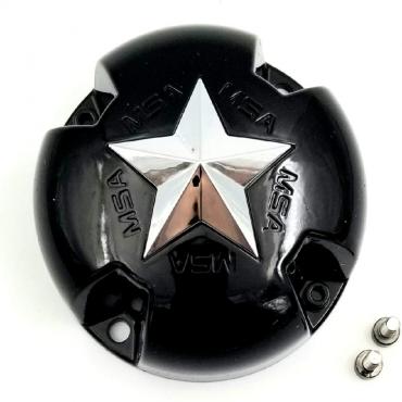 "MSA CAP Black for MSA Rims M18/M17/M15/M12 size 12"""