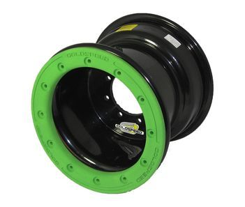 GS: 9X6 4/110/115 2B+4N 2X BL 2X BEADLOCK BL-GREEN PC RINGS