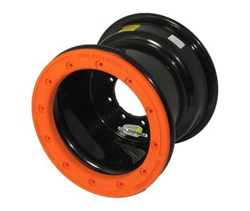 GS: 9X6 4/110/115 2B+4N 2X BL 2X BEADLOCK BL-ORANGE PC RINGS
