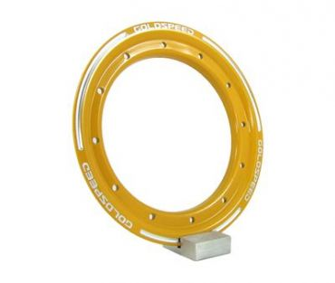 GS:BEAD-LOCK RING 10-INCH YELLOW